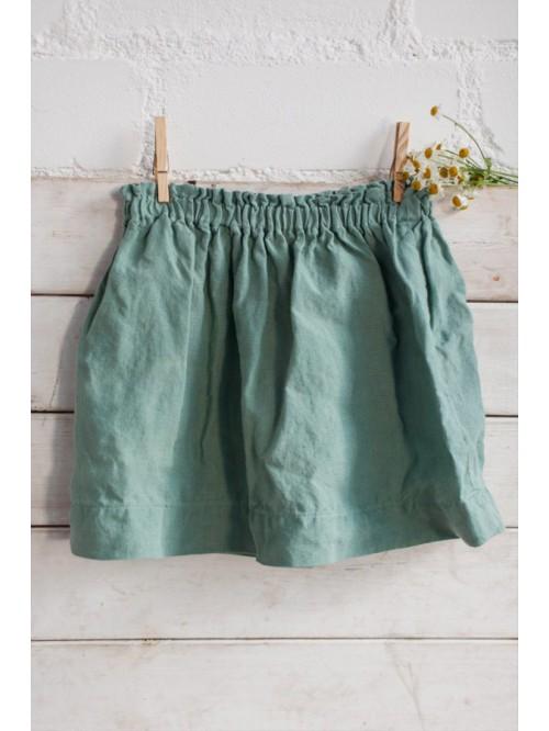 Fustă din in - La Petite Alice - Warm Linen Skirt