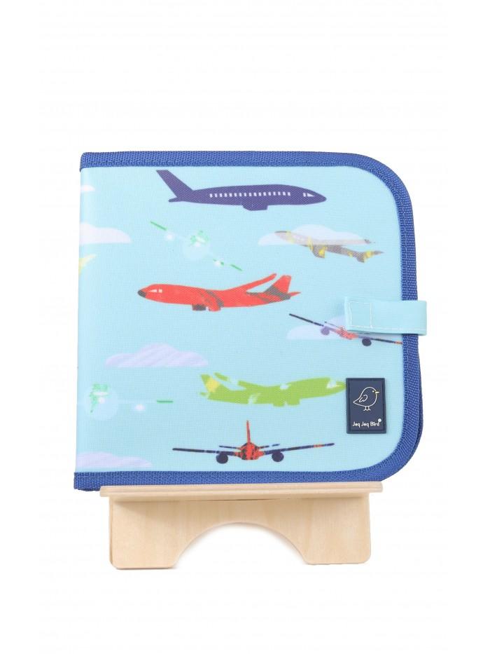 Carte refolosibilă pentru desen - Avion - Doodle It & Go erasable book - Aeroplane - Jaq Jaq Bird