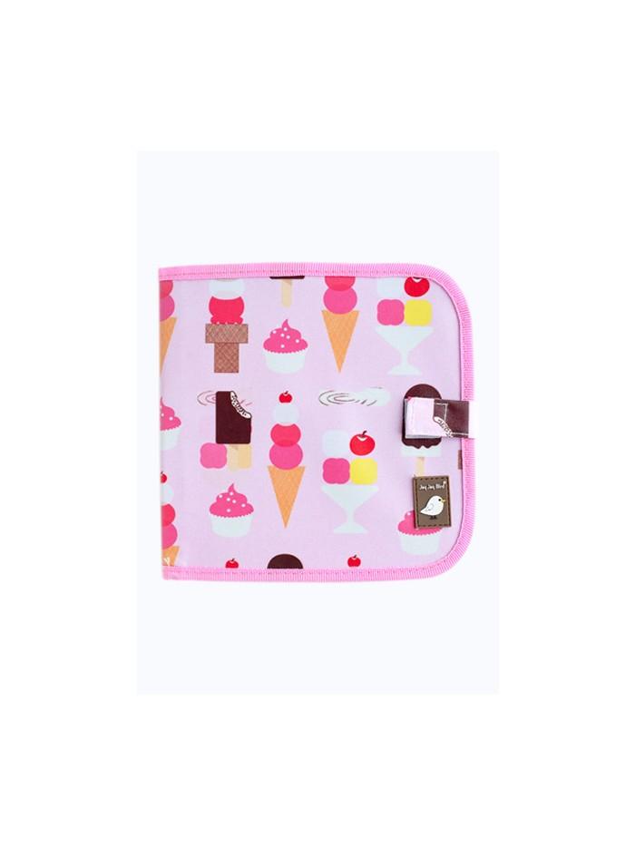Carte refolosibilă pentru desen Ice Cream - Doodle It & Go erasable book - Ice Cream - Jaq Jaq Bird