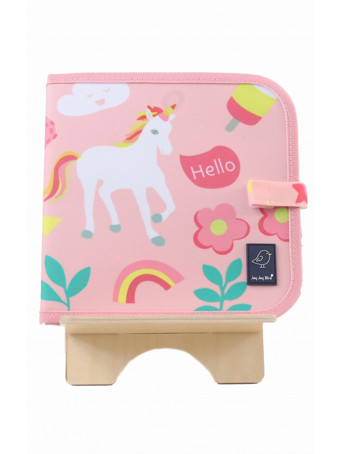 Carte refolosibilă pentru desen Unicorn - Doodle It & Go erasable book - Unicorn - Jaq Jaq Bird