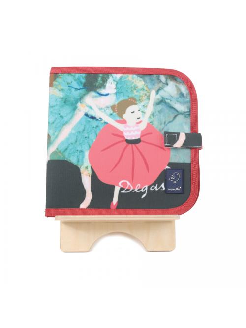 Carte de colorat refolosibilă - Degas - Color It & Go erasable book - Degas - Jaq Jaq Bird