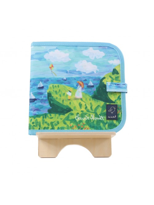 Carte de colorat refolosibilă - Monet - Color It & Go erasable book - Monet- Jaq Jaq Bird