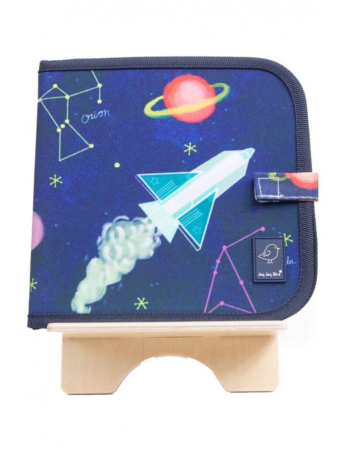 Carte de colorat refolosibilă - Constelații - Color It & Go erasable book - Costellation - Jaq Jaq Bird