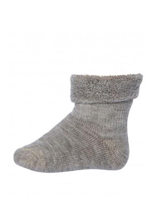 Șosete groase lână Wool Terry - mp Denmark - Light Brown