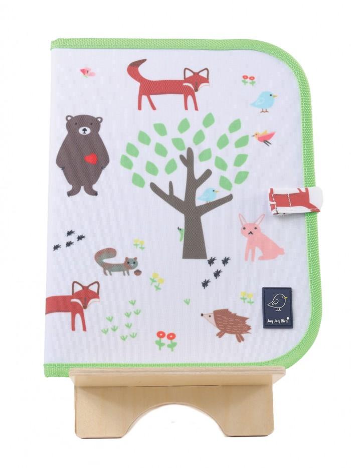Planșă napron pentru desen - Forest - Doodle it & Go erasable mat - Jaq Jaq Bird