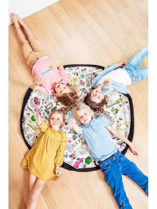 Sac depozitare și transport jucării – Play & Go - Color My Bag OMY Paris