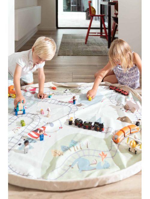 Sac depozitare și transport jucării – Play & Go - Tranimap