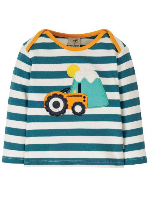 Bluză cu manecă lungă bumbac organic – Frugi - Tractor