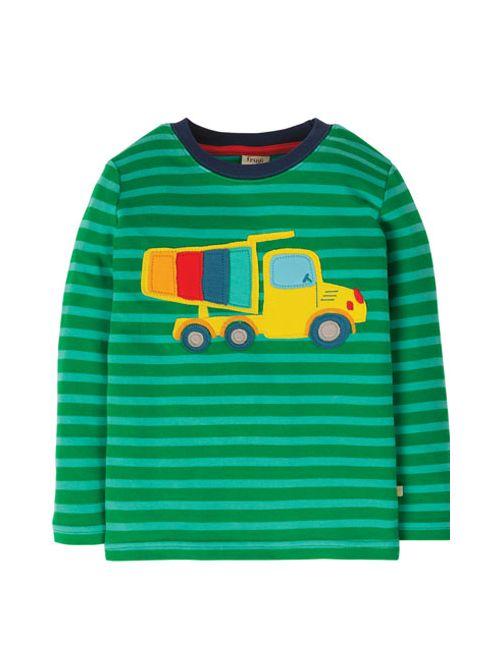 Bluză cu manecă lungă bumbac organic – Frugi - Camion