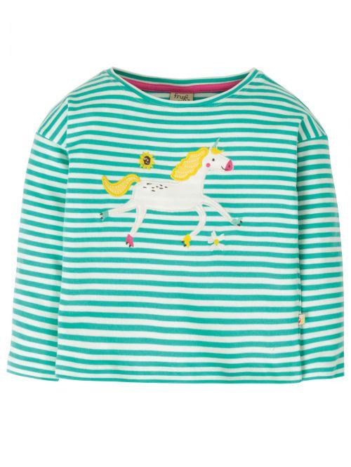 Bluză cu manecă lungă bumbac organic – Frugi - Unicorn
