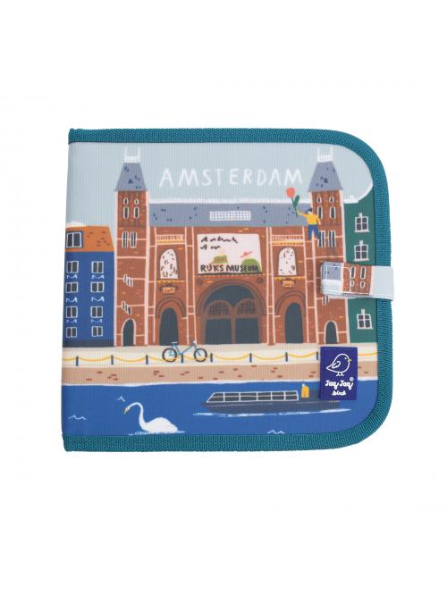 Carte refolosibilă pentru desen- colorat - Colecția 'Cities of Wonder' - Amsterdam