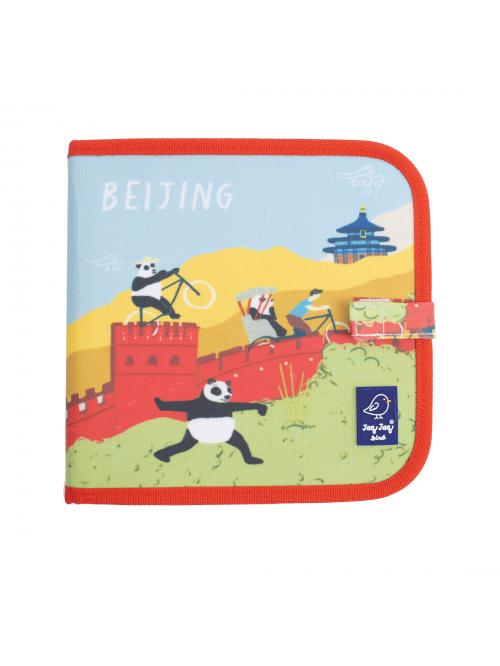 """Carte refolosibilă pentru desen/colorat - Colecția """"Cities of Wonder"""" - Beijing"""