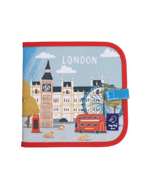"""Carte refolosibilă pentru desen/colorat - Colecția """"Cities of Wonder"""" - London"""