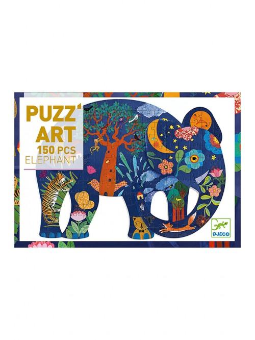 Puzzle  - Elefant - Djeco