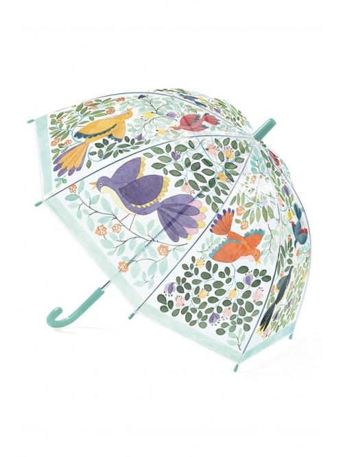 Umbrelă - Djeco - Flori și păsări