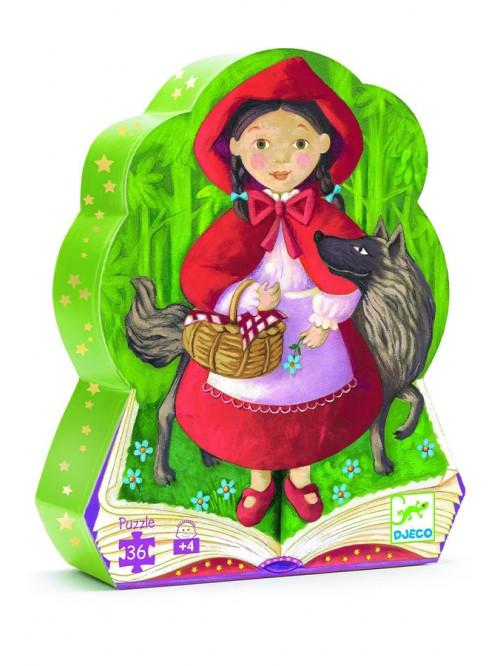 Puzzle - Scufita rosie - Djeco