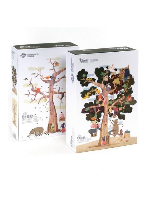 Puzzle gigant Londji Copacul meu