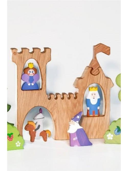 Set Waldorf pentru jocuri de rol - Wooden Caterpillar - Regatul