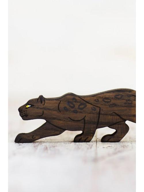 Figurină panteră - Wooden Caterpillar