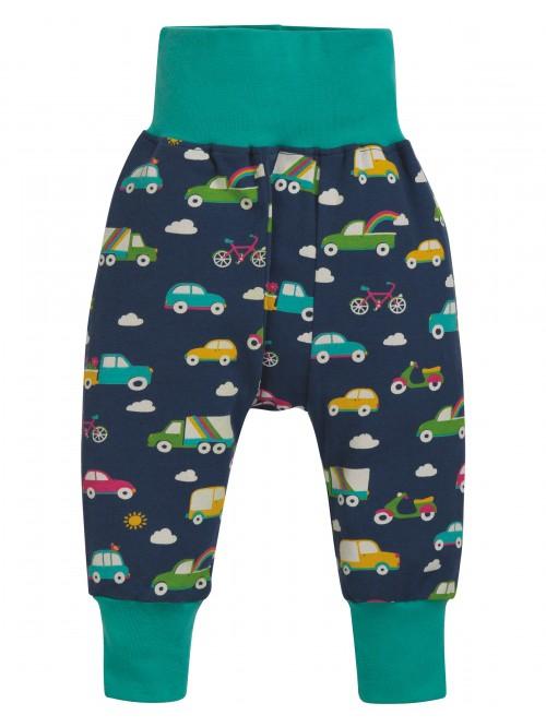 Pantaloni din bumbac organic – Frugi - Blue Rainbow Roads