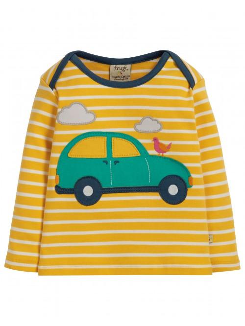 Bluză cu manecă lungă bumbac organic – Frugi - Breton Car