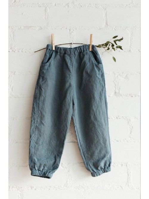 Pantaloni din in - La Petite Alice
