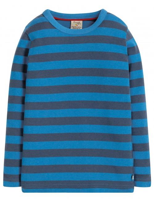 Bluză cu mânecă lungă bumbac organic - Frugi -  Sail Blue Stripe